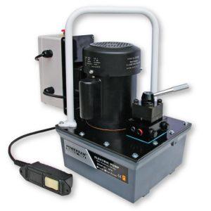 Bơm thủy lực dẫn động bằng điện EP18S, single acting pump.