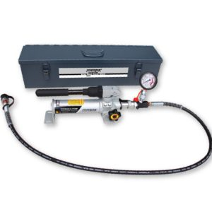 Bộ bơm thủy lực PB350BG, hoạt động bằng tay, đầy đủ phụ kiện, áp 700 bar. Powerram